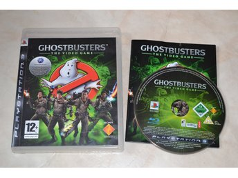 Ghostbusters the Video Game PS3 Playstation 3 Komplett Fint Skick