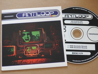 Antiloop - Trespasser CD Single 1998