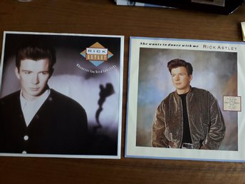 RICK ASTLEY Whenever you need somebody + She wants to dance w me 2st MAXI -87-88