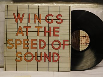 WINGS - AT THE SPEED OF SOUND