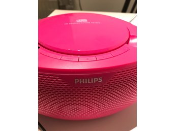 Philips cd-spelare rosa
