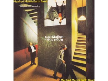 Manfred Manns Earth Band -Angel Station cd Chris Thompson