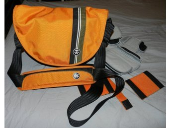 Fotoväska Crumpler Messenger Boy 4000, orange/brandgul