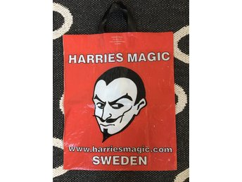 Plastkasse från legendariska Harries Magic