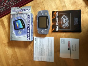 Gameboy advance CIB SCN