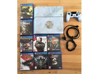 PlayStation 4 Destiny: The Taken King - Limited Edition 500GB Glacier White