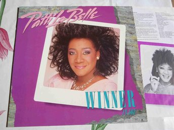 PATTI LA BELLE - WINNER IN YOU LP 1986