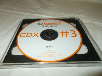 IDG CD XPRESS CDX 3  Mac & PC CD ROM skiva
