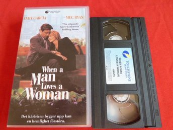 WHEN A MAN LOVES A WOMAN,   VHS, FILM