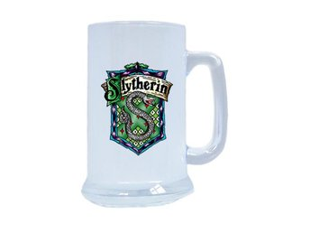 Harry Potter Slytherin frostat glas ölkrus, Harry Potter present