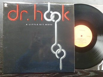 DR HOOK - A little bit more Capitol Sverige -76 LP