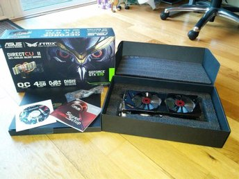 ASUS GeForce GTX 970 Strix 4GB Grafikkort - Hägersten - ASUS GeForce GTX 970 Strix 4GB Grafikkort - Hägersten