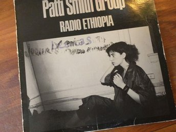 Pattii Smith Group  RADIO ETHIOPIA vinyl LP (Not for sale /Promotion copy)