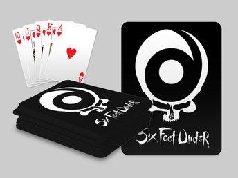 Six Feet Under Kortlek Poker Texas Hold Em Spelkort - Kuala Lumpur - Six Feet Under Kortlek Poker Texas Hold Em Spelkort - Kuala Lumpur
