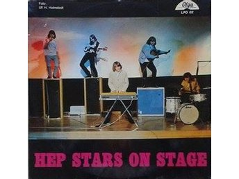 The Hep Stars title* Hep Stars On Stage* Rock Swe LP