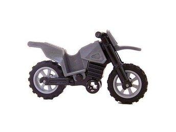 Lego - Figurer / Tillbehör - Indiana Jones Mc - Motorcykel grå svart NY - Uddevalla - Lego - Figurer / Tillbehör - Indiana Jones Mc - Motorcykel grå svart NY - Uddevalla
