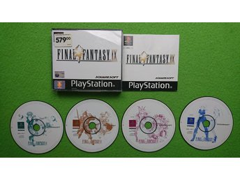 Final Fantasy IX 9 KOMPLETT Playstation 1 PSone ps1