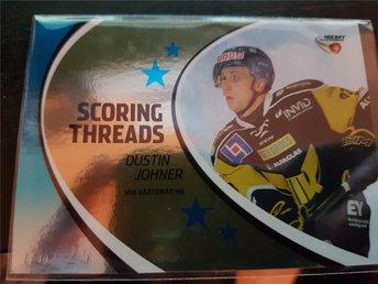 2014-15 HockeyAllsvenskan Scoring Threads Parallel #ST13 Dustin Johner Västerås - Torshälla - 2014-15 HockeyAllsvenskan Scoring Threads Parallel #ST13 Dustin Johner Västerås - Torshälla