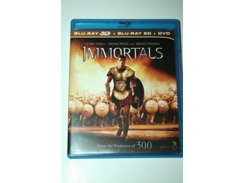 Immortals (Blu-ray 3D + Blu-ray 2D + DVD)