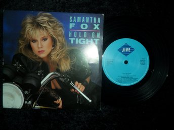 "Samantha Fox - Hold On Tight/It´s Only Love_1986 7"" Singel/Foxy 3"