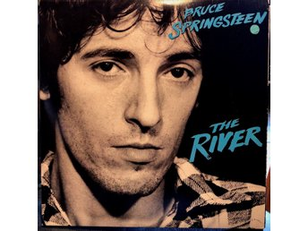 "BRUCE SPRINGSTEEN -  "" THE RIVER "" 2x  LP Tysk press 1980-"