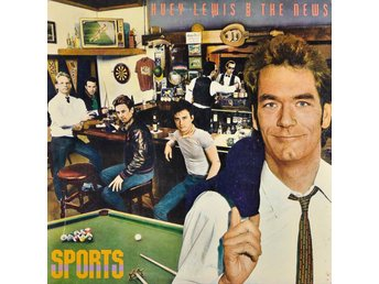 LP Huey Lewis and the news Sports!