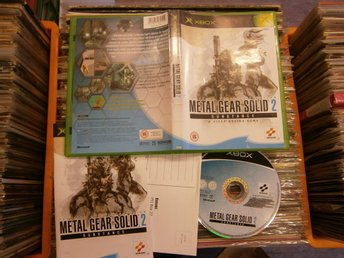 METAL GEAR SOLID 2 - SUBSTANCE - XBOX