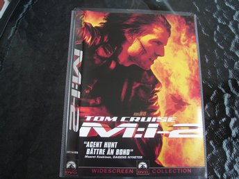 DVD-MISSION IMPOSSIBLE  2 *Tom Cruise*