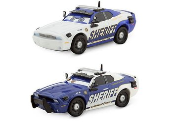 Cars Bilar Pixar Disney - Protect & Serve Sheriff DD05 & M07 Skala 1:43 CBM 3