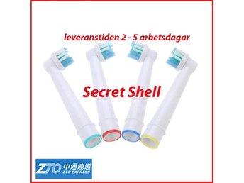 4 st Tandborsthuvuden till Braun Oral B SB17 - Shenzhen - 4 st Tandborsthuvuden till Braun Oral B SB17 - Shenzhen