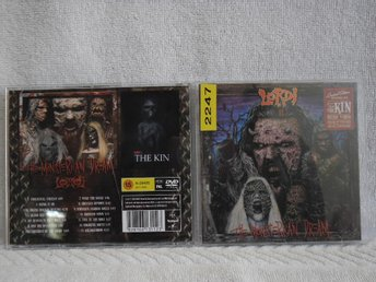 LORDI - THE MONSTERICAN DREAM + THE KIN - RCA  - CD+DVD