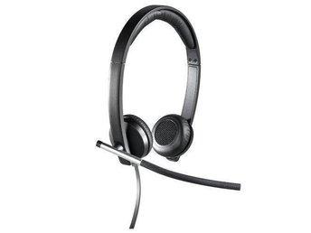 Logitech H650e Stereo. USB Stereoheadset. Skype, Lync, Teamspeak, Ventrilo - Vinninga - Logitech H650e Stereo. USB Stereoheadset. Skype, Lync, Teamspeak, Ventrilo - Vinninga