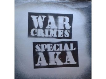 Special AKA  titel*War Crimes* UK 7""