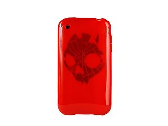SKULLCANDY Skin iPhone3 Red Shattered