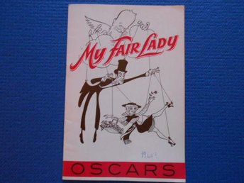 Program My Fair Lady Oscars 1959