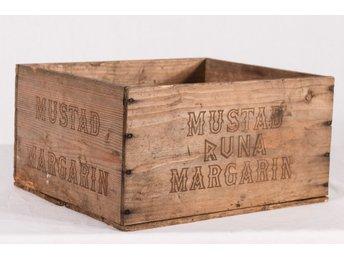 Trälåda - Runa Mustad Margarin - Järbo - Trälåda - Runa Mustad Margarin - Järbo