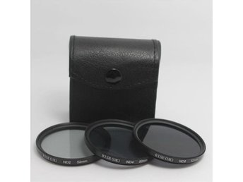 ND-filter 52mm. Sats om ND2 ND4 ND8