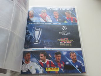 2014-2015 OFFICIAL TRADING CARD GAME CHAMPIONS LEAGUE