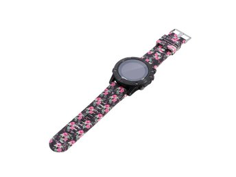 Garmin Fenix 5 silicone watchband strap- Rose Flowers