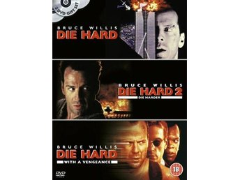 Die Hard Trilogy - Bruce Willis - DVD Box