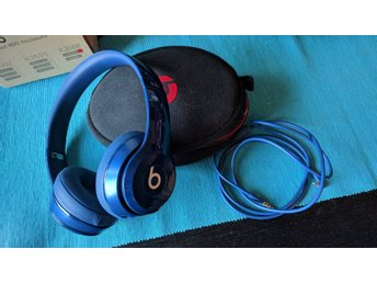 Beats By Dre Solo Wired Blue