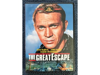 The Great Escape. Steve McQueen. James Garner. Klassiker!