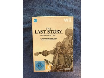 The Last Story Limited Edition Ny! Oöppnad!
