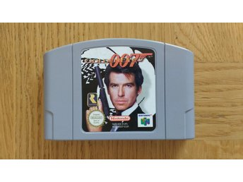 Nintendo 64: James Bond Goldeneye 007 (endast kassett)