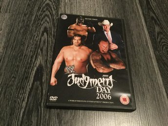 WWE Judgment Day 2006(Mycket Bra Skick)(Wrestling)