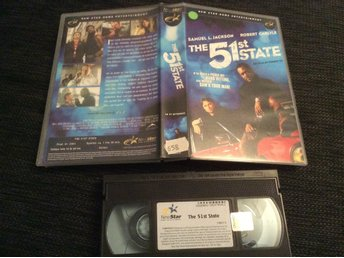 THE 51st STATE  HYRVHS Samuel l Jackson,Robert Carlyle