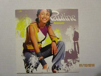PAULINE - ANSWER - CD  SINGEL