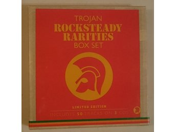 Trojan Rocksteady Rarities Box Set (3 CD)
