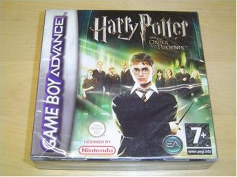 HARRY POTTER & THE ORDER OF THE PHOENIX NINTENDO GAMEBOY ADVANCE GBA *NYTT*