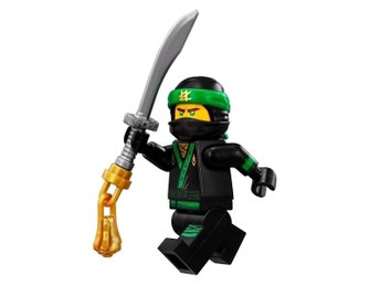 LEGO - The LEGO Ninjago Movie - Lloyd - Minifigur - Legogubbe - Z2396
